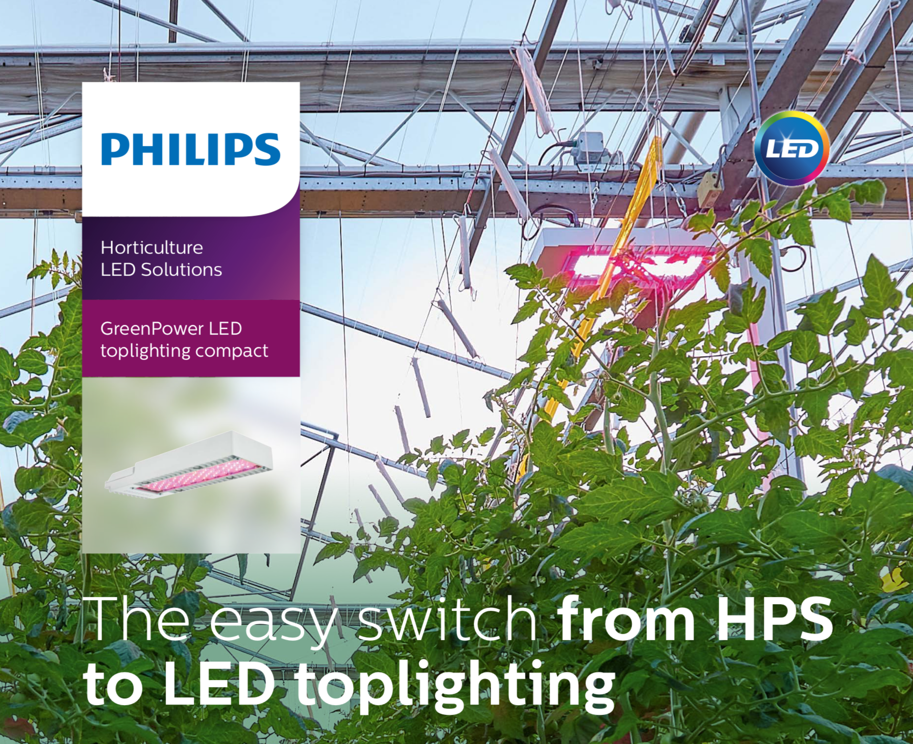Philips HPS to LED