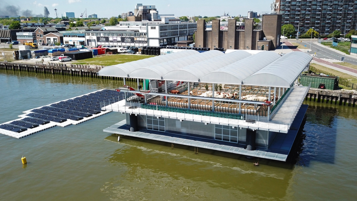 Floating Farms, a Creative Solution to Sea Level Rising in Rotterdam